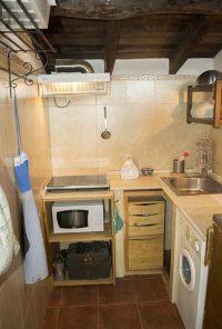 cocina del apartamento el palomar