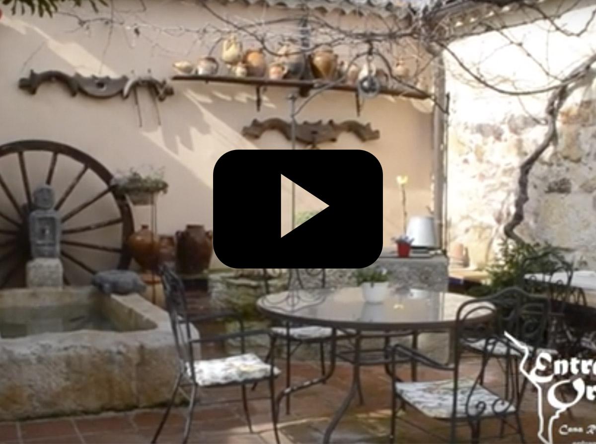 casa rural en zamora con patio