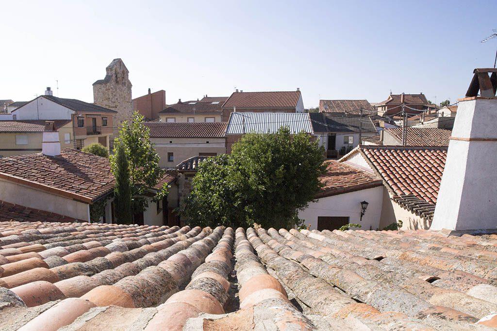 Vistas del apartamento rural El Palomar en Zamora