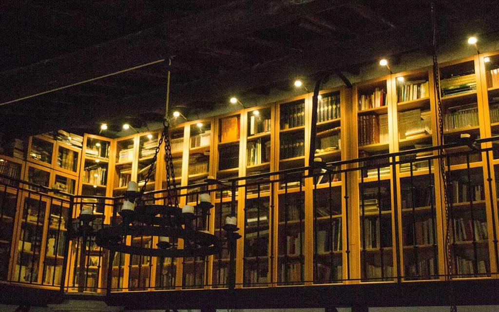 biblioteca casa rural en zamora