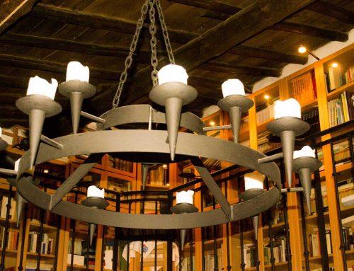 Salón -Lámpara imperial-