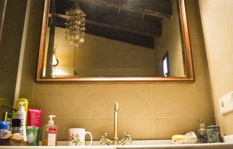 Baño del apartamento El Palomar