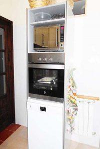 el horno y lavavajillas de las tenadas en zamora