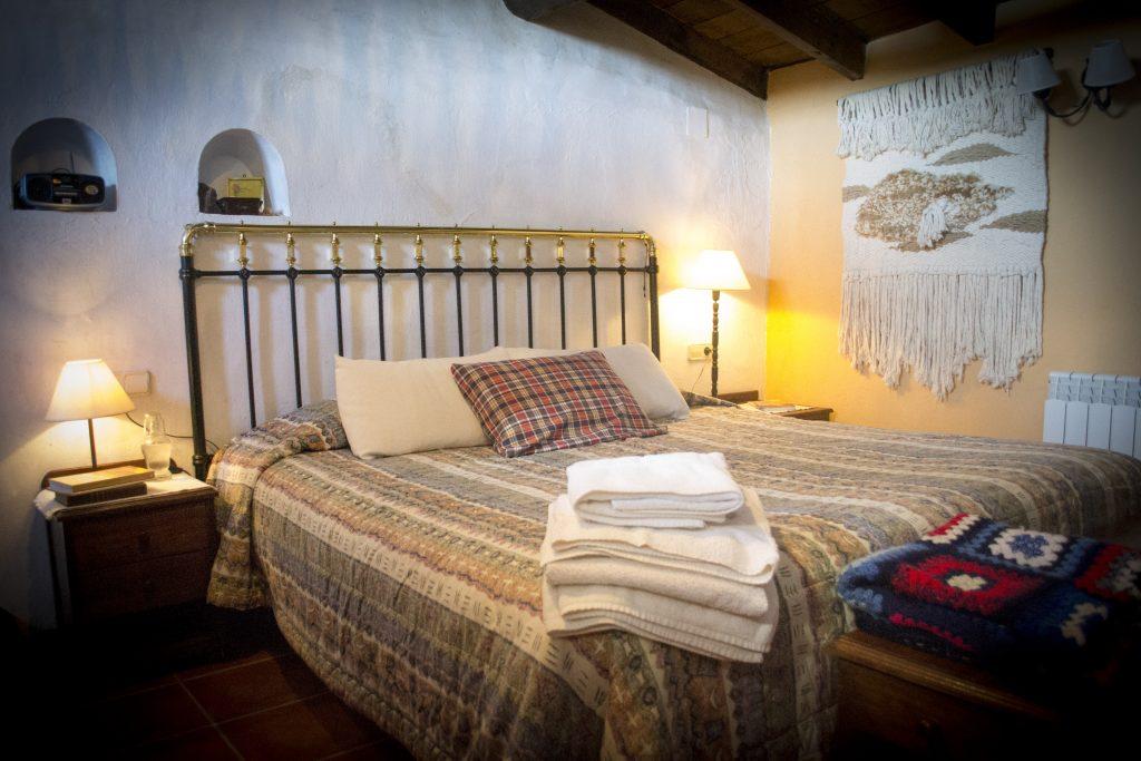 habitación del Apartamento Rural El Palomar de Entrambasorillas