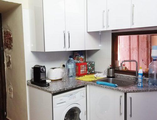 Las Tenadas -Cocina- Lavadora