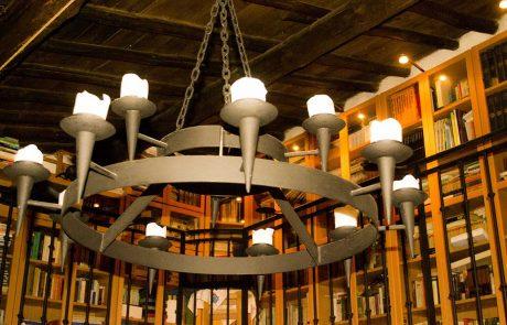 Lámpara Imperial de velas