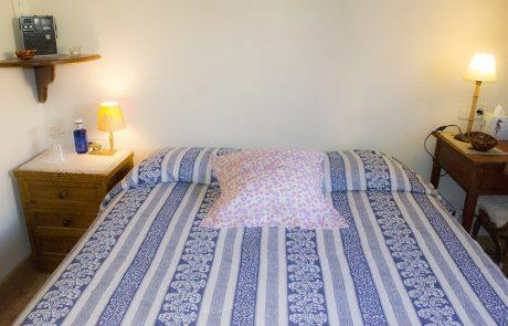 La cama del Iglu de Lola de Las Tenadas de la Casa Rural Entrambasorillas