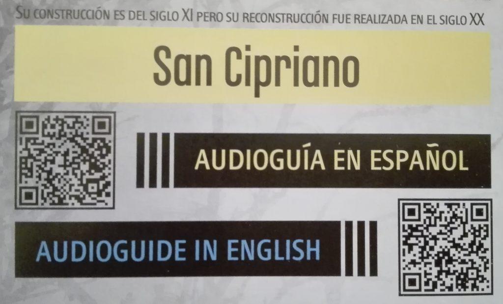 San Cipriano Zamora Audioguía