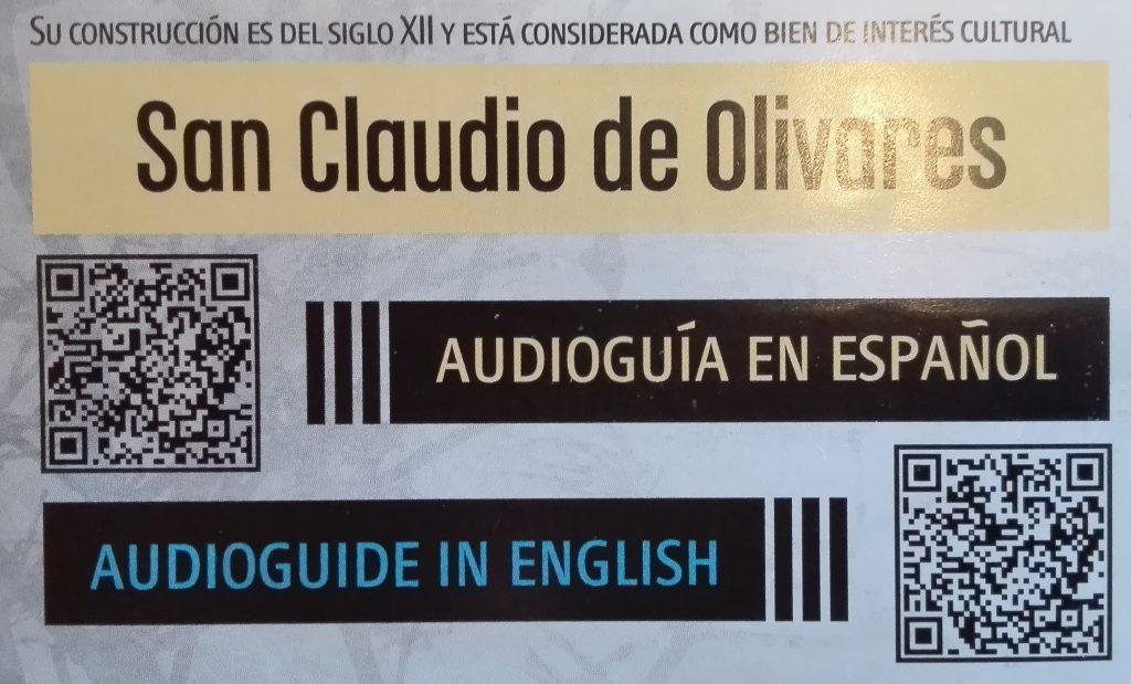 San Claudio de Olivares Zamora Audioguía