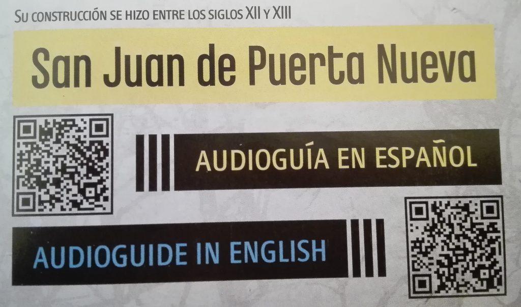 San Juan de Puerta Nueva Zamora Audioguía