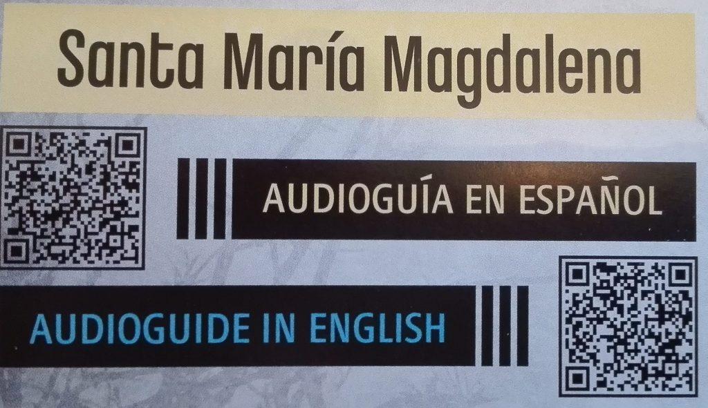 Santa María Magdalena Zamora Audioguía