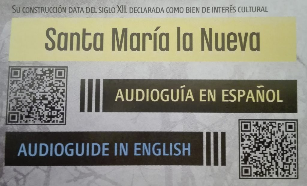 Santa María la Nueva Zamora Audioguía