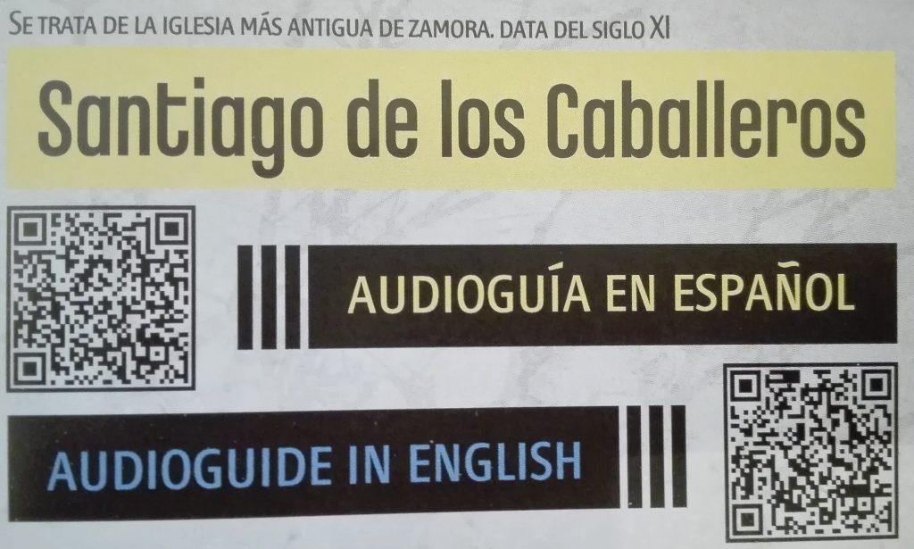 Santiago de los Caballeros Zamora Audioguía