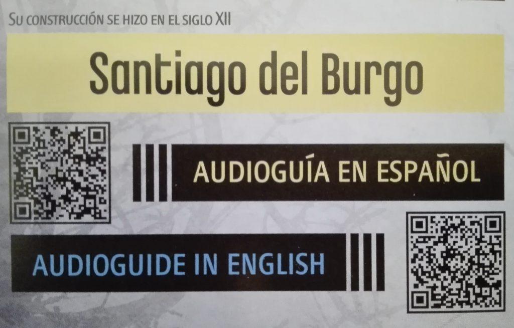 Santiago del Burgo Zamora Audioguía