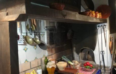 Barbacoa de la Casa rural en Zamora Entrambasorillas
